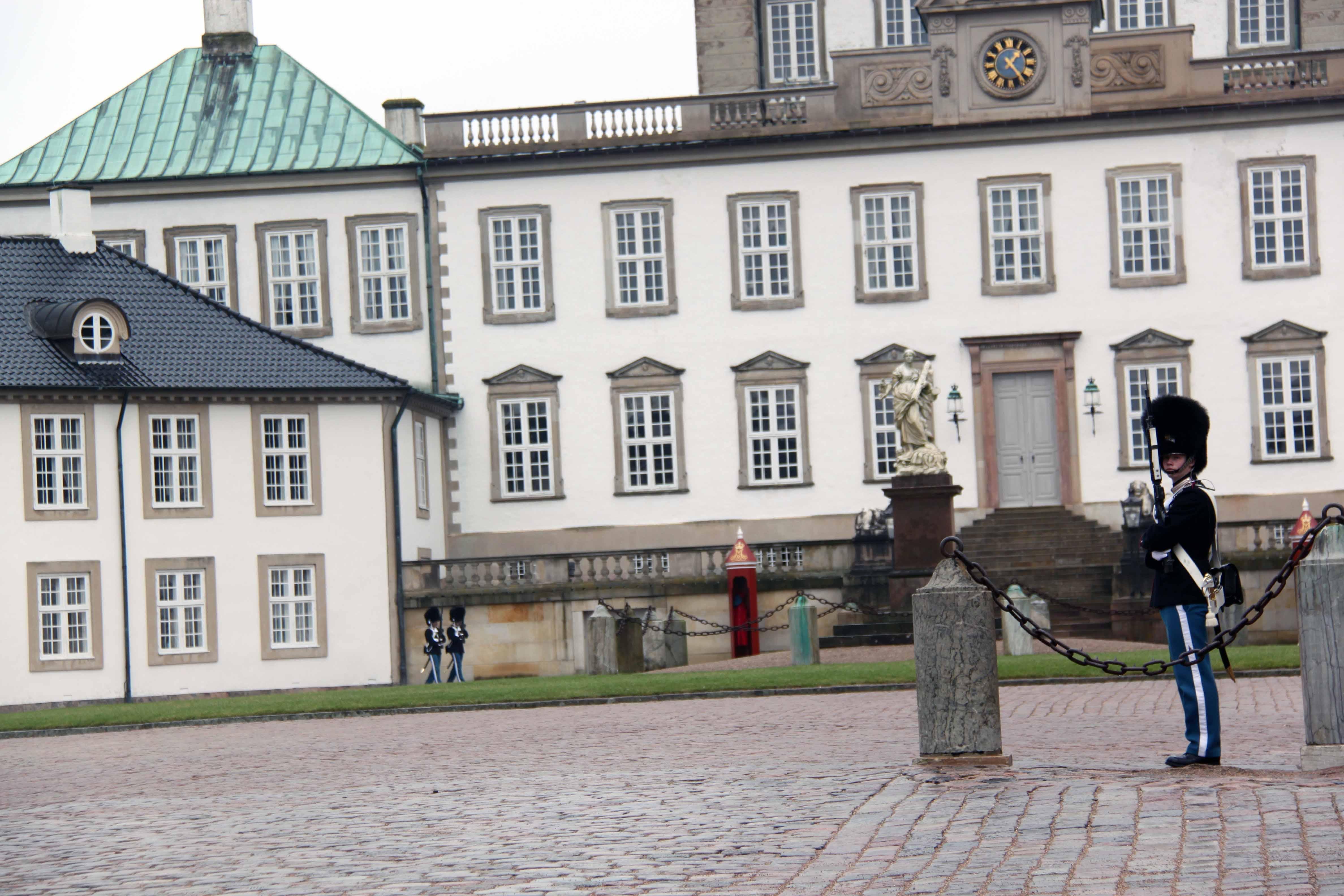 Soldater og slot