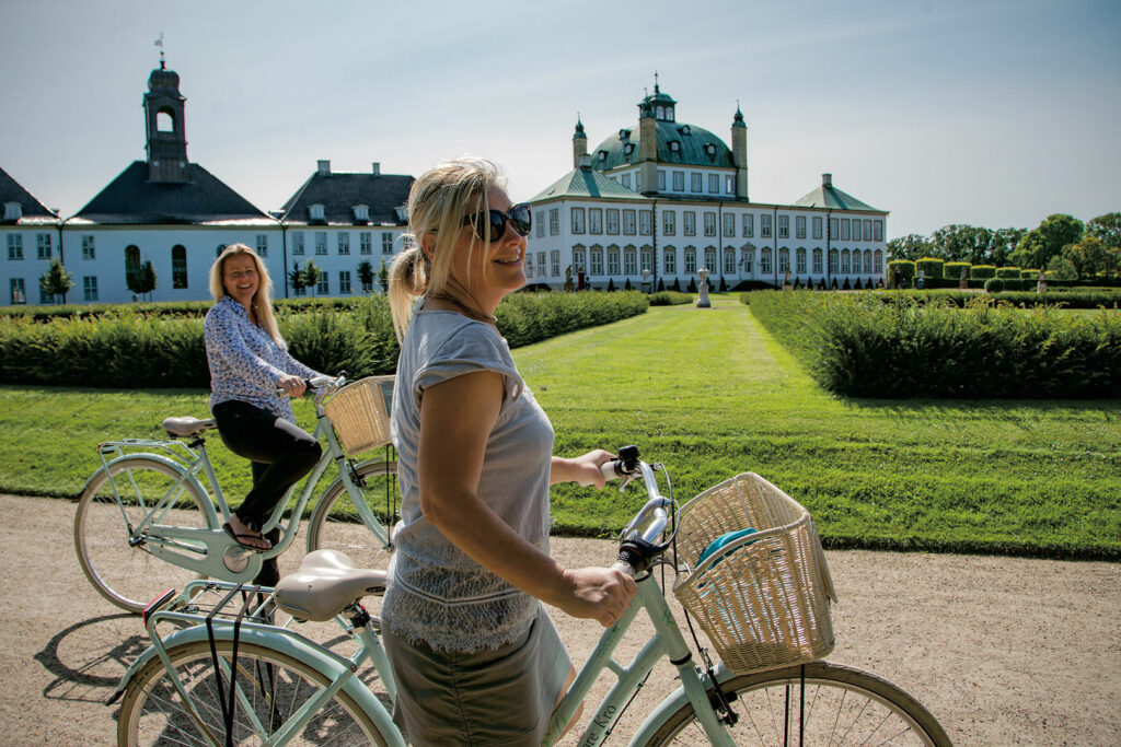 Castles and bikes
